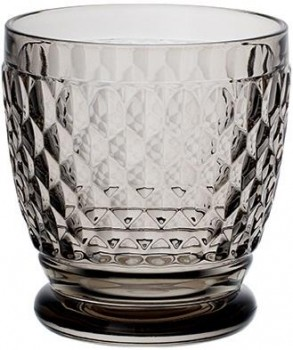 Villeroy & Boch Boston coloured Becher / Wasserglas / Cocktailglas smoke 10cm 330ml
