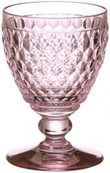 Villeroy & Boch Boston coloured Wasserglas rose