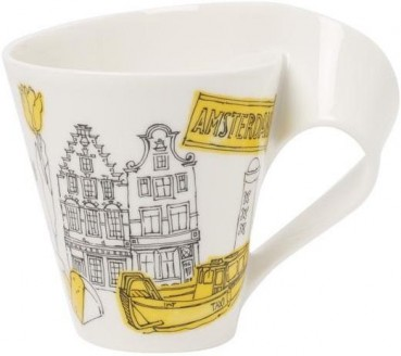 Villeroy & Boch Cities of the World Becher mit Henkel Amsterdam