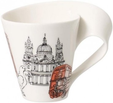 Villeroy & Boch Cities of the World Becher mit Henkel London