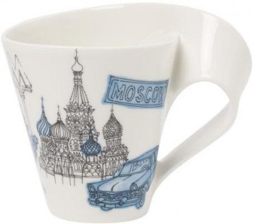 Villeroy & Boch Cities of the World Becher mit Henkel Moscow