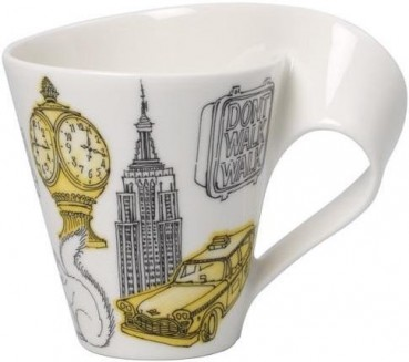 Villeroy & Boch Cities of the World Becher mit Henkel New York