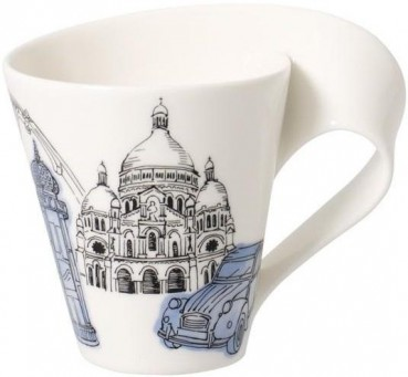Villeroy & Boch Cities of the World Becher mit Henkel Paris