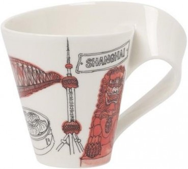 Villeroy & Boch Cities of the World Becher mit Henkel Shanghai