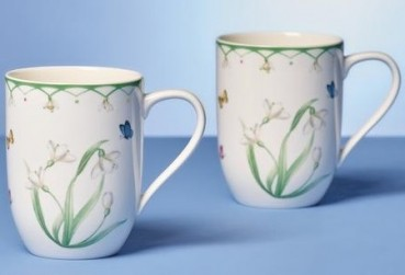Villeroy & Boch Colourful Spring Becher mit Henkel Set 2tlg.