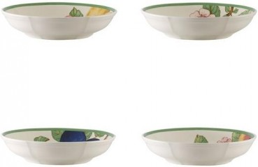Villeroy & Boch French Garden Modern Fruits Schale flach Set 4tlg.