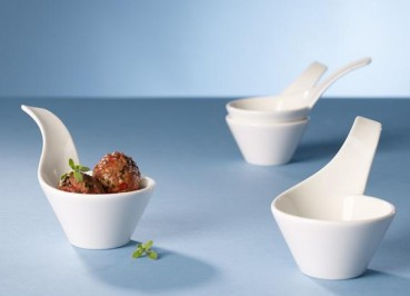Villeroy & Boch NewWave Flying Dinner Set 4tlg.
