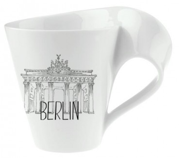 Villeroy & Boch NewWave Modern Cities Becher mit Henkel Berlin 300ml