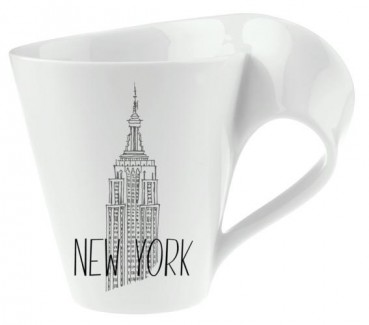 Villeroy & Boch NewWave Modern Cities Becher mit Henkel New York 300ml