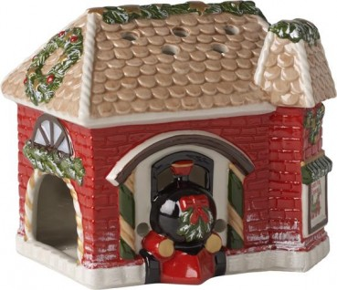 Villeroy & Boch North Pole Express Bahnhof