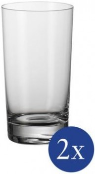 Villeroy & Boch Purismo Bar Cocktailglas / Wasserglas Set 2tlg. je 13,5cm 370ml