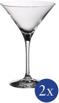 Villeroy & Boch Purismo Bar Martiniglas / Cocktailglas Set 2tlg.