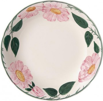 Villeroy & Boch Rose Sauvage heritage Suppenteller / Bol flach