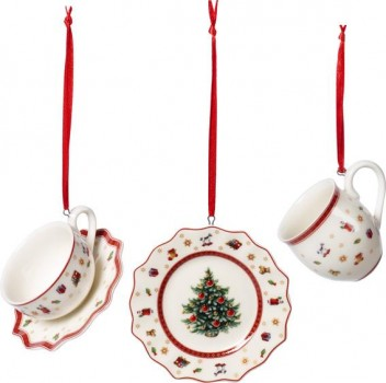 Villeroy & Boch Toy´s Delight Decoration Ornamente Geschirrset 3tlg.