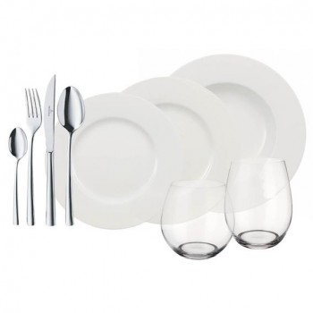 Villeroy & Boch Wonderful World White 4 Friends Set 36tlg.