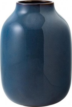like. Villeroy & Boch Group Lave Home Vase Nek bleu uni groß 220mm