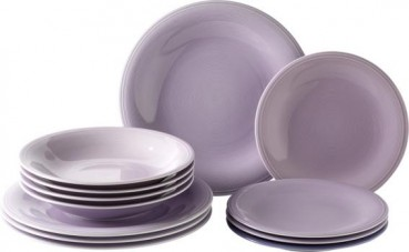 like. by Villeroy & Boch Color Loop Blueblossom Starter-Teller-Set 12tlg.