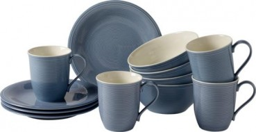 like. by Villeroy & Boch Color Loop Horizon Frühstücks-Set 12tlg.
