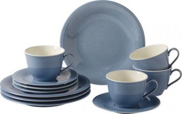 like. by Villeroy & Boch Color Loop Horizon Kaffee-Set 12tlg.