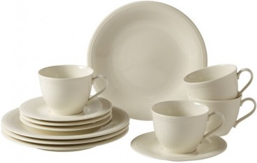 like. by Villeroy & Boch Color Loop Natural Kaffee-Set 12tlg.