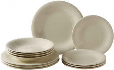 like. by Villeroy & Boch Color Loop Natural Starter-Teller-Set 12tlg.
