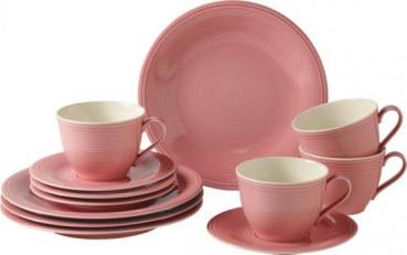 like. by Villeroy & Boch Color Loop Rose Kaffee-Set 12tlg.