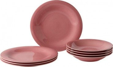 like. by Villeroy & Boch Color Loop Rose Tafel-Set 8tlg.