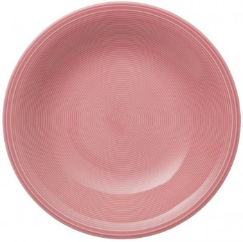 like. by Villeroy & Boch Color Loop Rose tiefer Teller 23,5cm