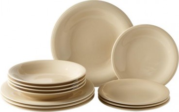 like. by Villeroy & Boch Color Loop Sand Starter-Teller-Set 12tlg.