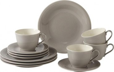 like. by Villeroy & Boch Color Loop Stone Kaffee-Set 12tlg.