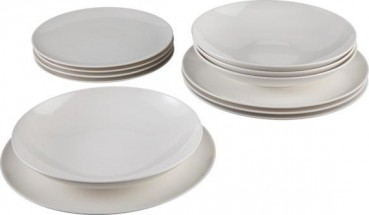 like. by Villeroy & Boch Voice Basic Starter-Teller-Set 12tlg.