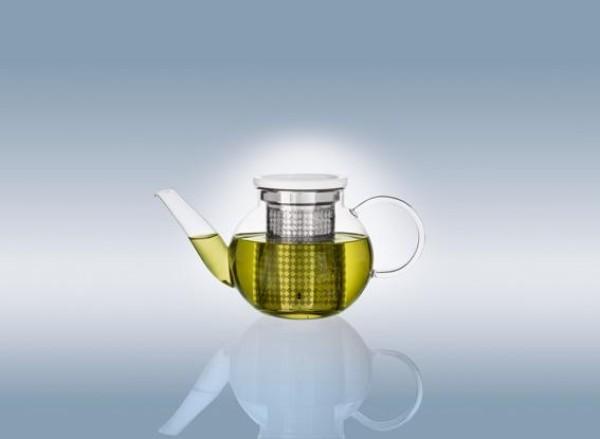 artesano hot cold beverages teekanne gr e s mit sieb. Black Bedroom Furniture Sets. Home Design Ideas