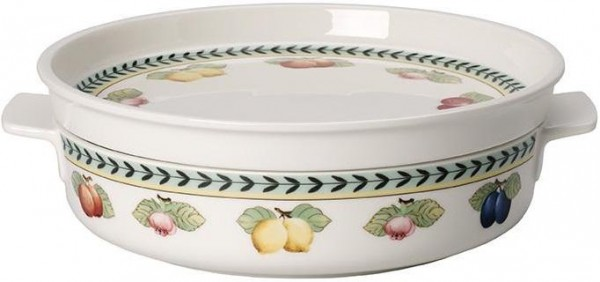Villeroy & Boch French Garden Backform rund klein mit Top