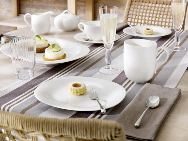 Villeroy & Boch New Cottage Basic gedeckter Tisch 1