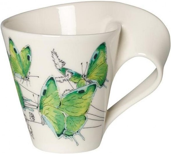 Villeroy & Boch NewWave Caffè Deep green hairstreak Becher mit Henkel 1041949100